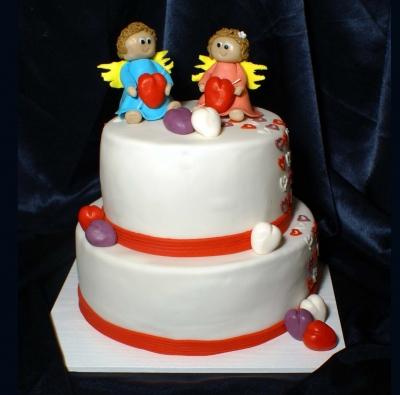 Свадебный торт № 128 7кг