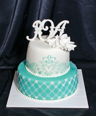 Торт свадебный №194 7кг