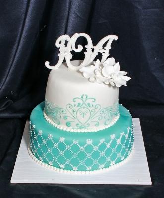 Торт свадебный №27 7кг