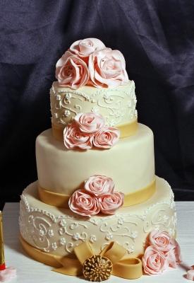 Свадебный торт №194 1кг