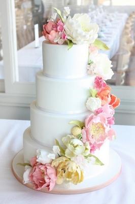 Свадебный торт № 123  10кг