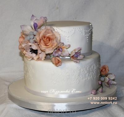 Торт Свадебный №268 5кг