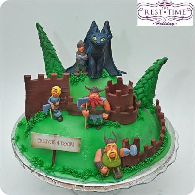 Торт Укротить дракона  4кг