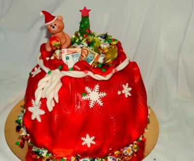 Торт новогодний №13 2,5кг