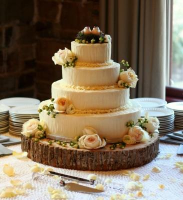 Свадебный торт № 31  10 кг
