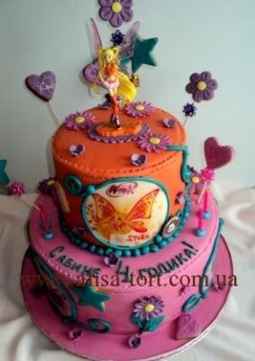 Торт Винкс №4 за 1кг