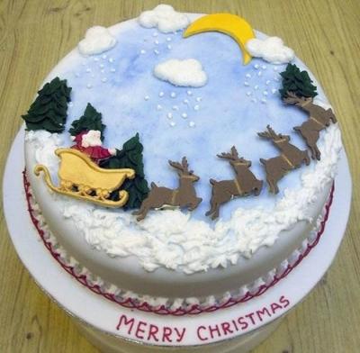 Торт новогодний №17 2,5кг