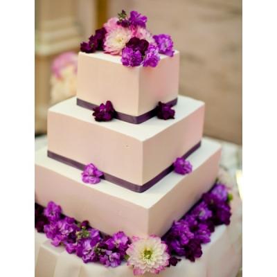 Свадебный торт Хризантема 10 кг