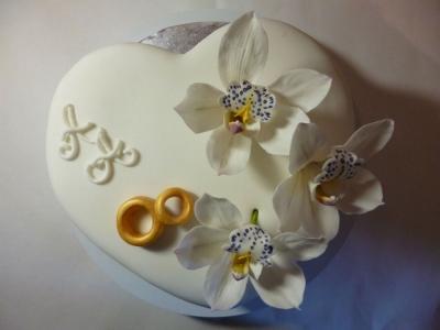 Торт Свадебный №251  2,5кг