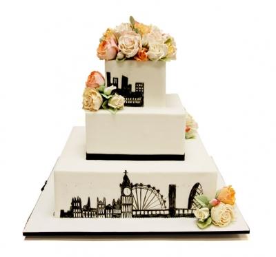 Торт Свадебный №241  15кг