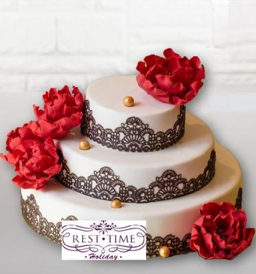 Свадебный торт №197 9кг