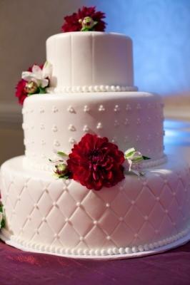 Торт свадебный №221 1 кг