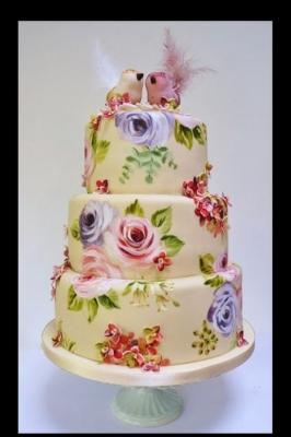 Торт С птичками 1 кг