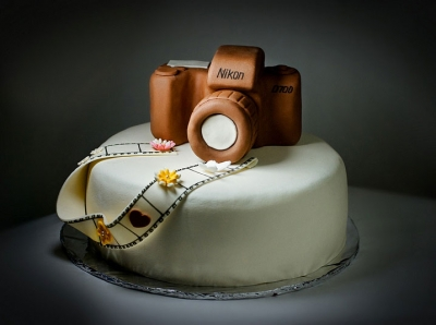 Торт для фотографа 3кг