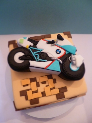 Торт Мотоцикл 2,5кг
