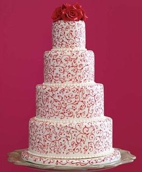 Торт Свадебный №245  1кг