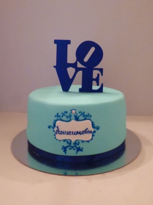 Торт свадебный №254 3кг