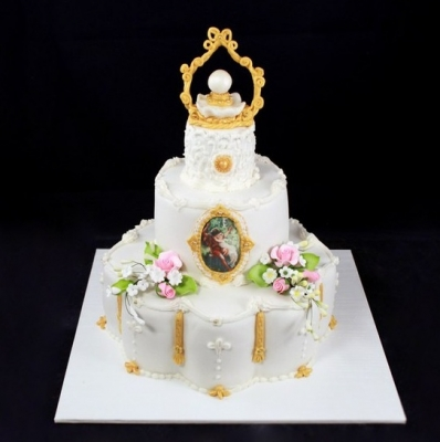 Свадебный торт №224 1кг