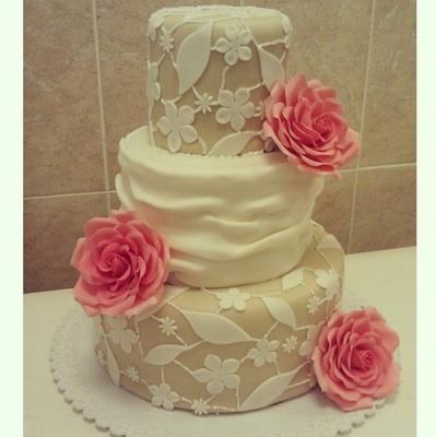 Торт Свадебный №255 1кг