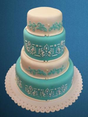 Торт Свадебный №256 1кг