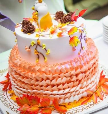 Торт Золотая осень 5 кг