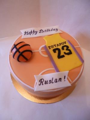 Торт Для баскетболиста 2кг