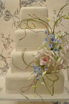 Торт свадебный №227 1кг