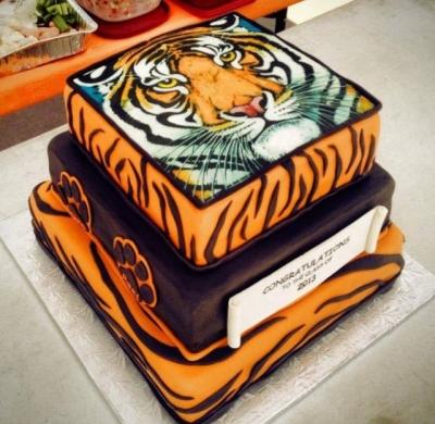 Торт с тигром 8кг