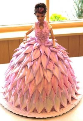 Торт Кукла №3  за 1кг