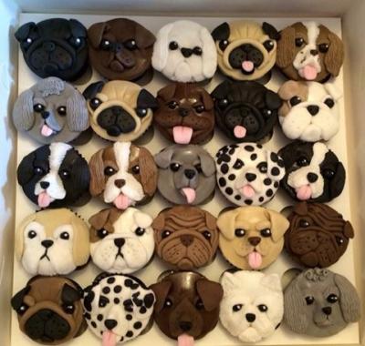 Капкейки собачки