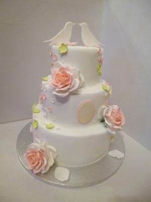 Торт Свадебный №264  8кг