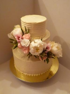Торт Свадебный №265  8кг