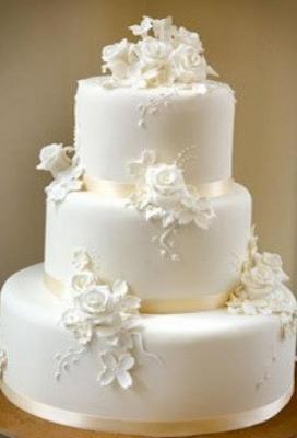 Свадебный торт №8  8кг