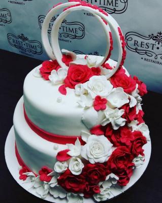 Торт Свадебный №74 6кг