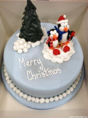 Торт новогодний №19 2,5кг