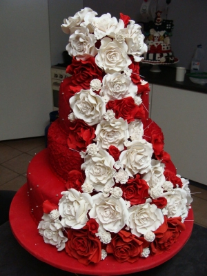 Торт  Красный бархат за 1кг