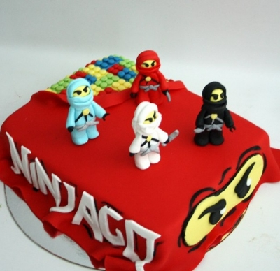 Торт Нинзяго 2кг