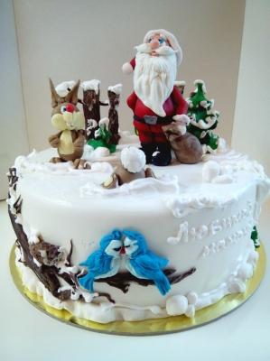 Торт Новогодний №23 3 кг