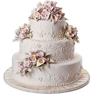Свадебный торт №5  8кг