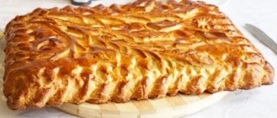 Пирог с капустой 1кг