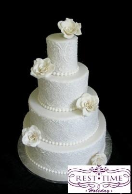 Торт Свадебный №48 за 1кг