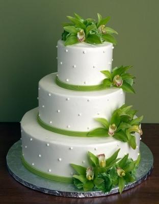 Свадебный торт №1  9кг