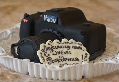 Торт Фотоаппарат 2 кг