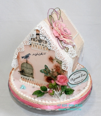 Торт Романтичный домик 3кг