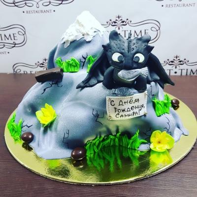Торт Дракон Беззубик за 1кг
