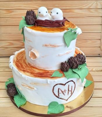 Торт свадебный №235 5кг