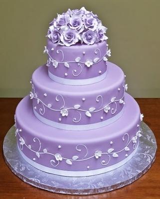 Свадебный торт № 236 1кг