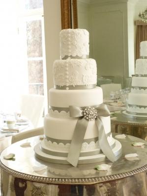 Торт свадебный №237 1кг