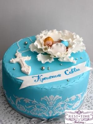 Торт На крещение за 1кг
