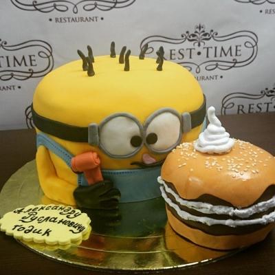 Торт Миньон за 1кг